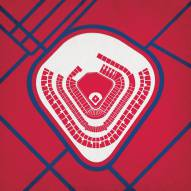 Los Angeles Angels Stadium Print