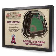 Los Angeles Angels 25-Layer StadiumViews 3D Wall Art