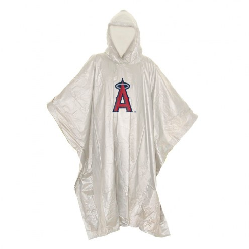 Los Angeles Angels Stormfront Lightweight Rain Poncho
