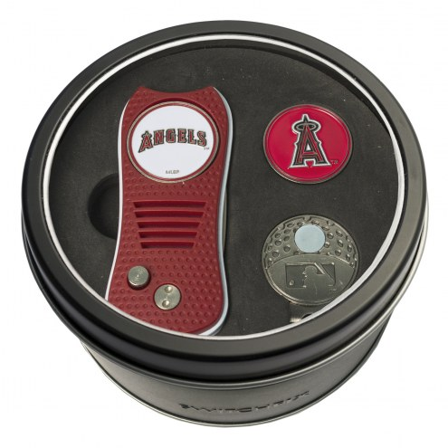 Los Angeles Angels Switchfix Golf Divot Tool, Hat Clip, & Ball Marker