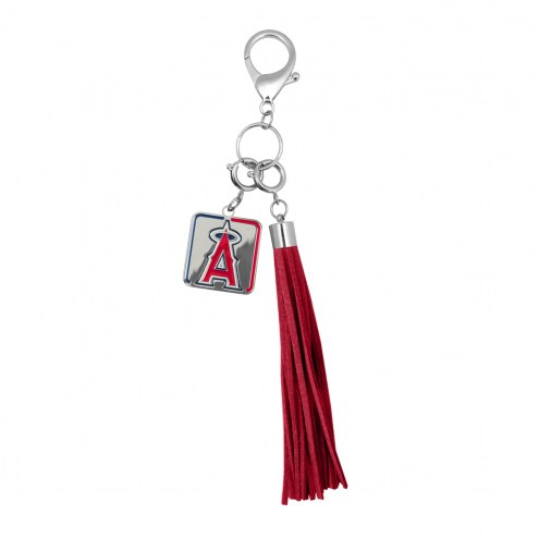 Los Angeles Angels Tassel Purse Charm