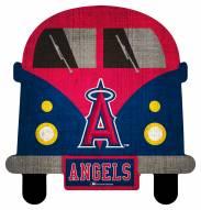 Los Angeles Angels Team Bus Sign