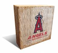 Los Angeles Angels Team Logo Block