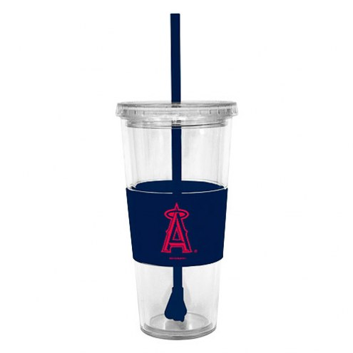 Los Angeles Angels Tumbler with Straw