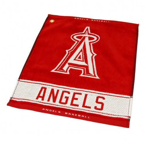 Los Angeles Angels Woven Golf Towel