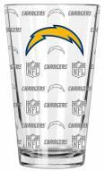 Los Angeles Chargers 16 oz. Sandblasted Pint Glass