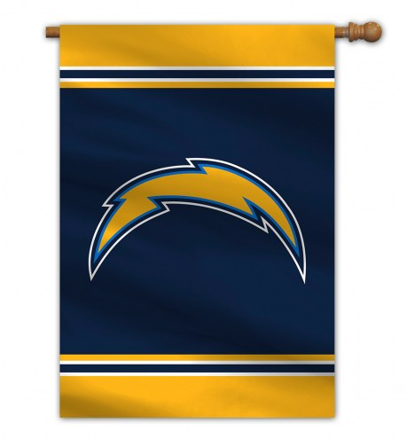"""Los Angeles Chargers 28"""" x 40"""" Banner"""