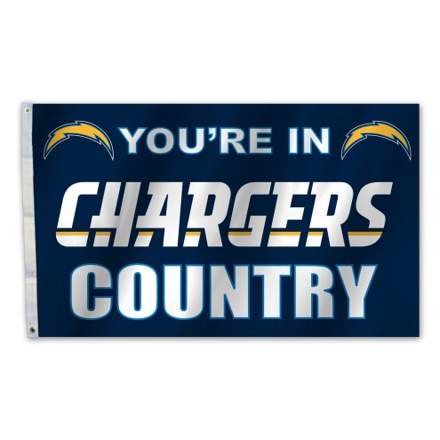 Los Angeles Chargers 3' x 5' Country Flag