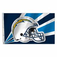Los Angeles Chargers 3' x 5' Helmet Flag