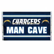 Los Angeles Chargers 3' x 5' Man Cave Flag