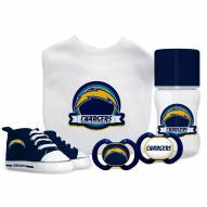 Los Angeles Chargers 5-Piece Baby Gift Set