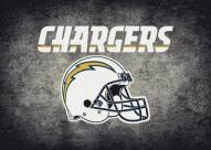 Los Angeles Chargers 6' x 8' NFL Distressed Area Rug