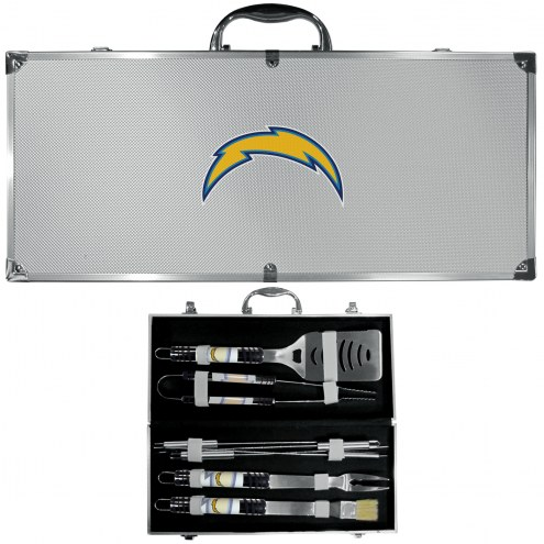 Los Angeles Chargers 8 Piece Tailgater BBQ Set
