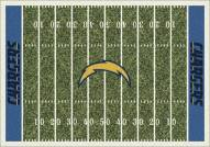 Los Angeles Chargers 8' x 11' NFL Home Field Area Rug