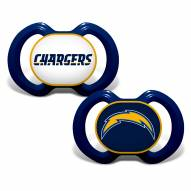 Los Angeles Chargers Baby Pacifier 2-Pack