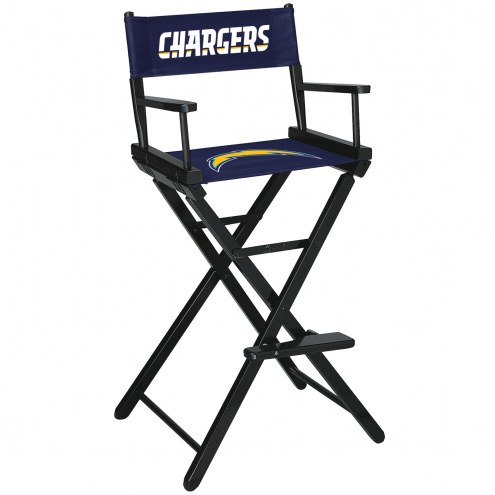 Los Angeles Chargers Bar Height Director's Chair