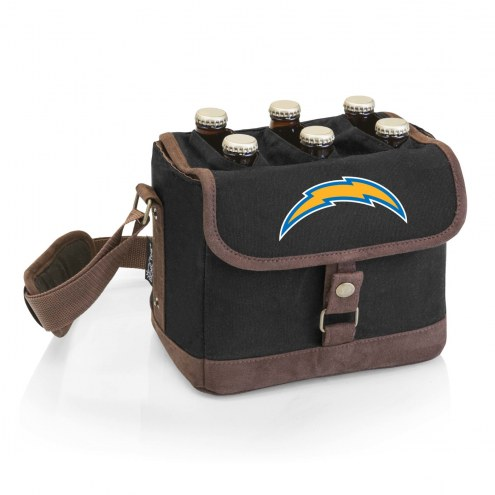 Los Angeles Chargers Beer Caddy Cooler Tote with Opener