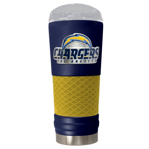 Los Angeles Chargers Blue 24 oz. Powder Coated Draft Tumbler
