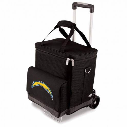 Los Angeles Chargers Cellar Cooler with Trolley