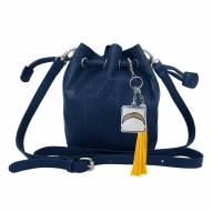Los Angeles Chargers Charming Mini Bucket Bag