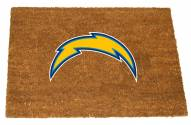 Los Angeles Chargers Colored Logo Door Mat