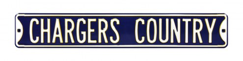Los Angeles Chargers Country Street Sign