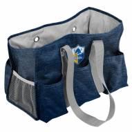 Los Angeles Chargers Crosshatch Weekend Bag