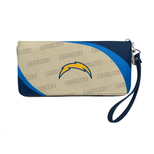 Los Angeles Chargers Curve Zip Organizer Wallet