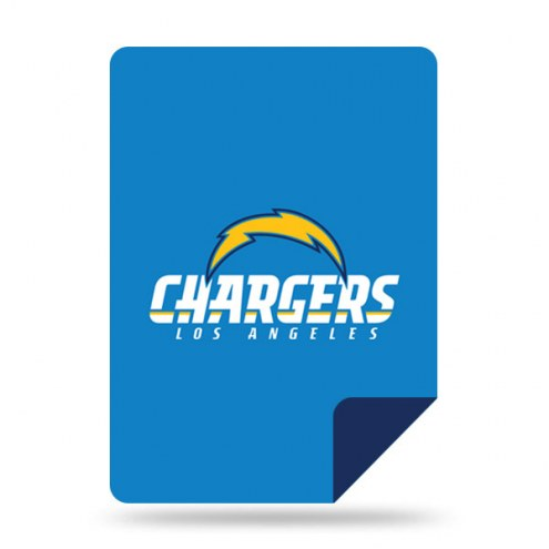 Los Angeles Chargers Denali Sliver Knit Throw Blanket