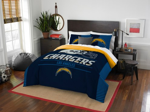 Los Angeles Chargers Draft Full/Queen Comforter Set