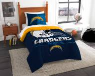 Los Angeles Chargers Draft Twin Comforter Set