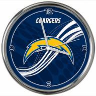 Los Angeles Chargers Dynamic Chrome Clock