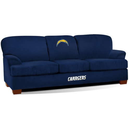 Los Angeles Chargers First Team Microfiber Sofa