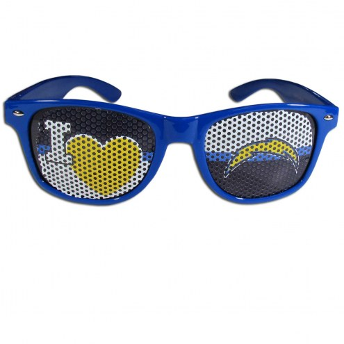 Los Angeles Chargers I Heart Game Day Shades