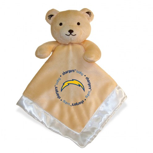 Los Angeles Chargers Infant Bear Security Blanket