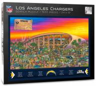Los Angeles Chargers Joe Journeyman Puzzle