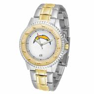 Los Angeles Chargers Competitor Two-Tone Men's Watch