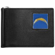 Los Angeles Chargers Leather Bill Clip Wallet