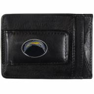 Los Angeles Chargers Leather Cash & Cardholder