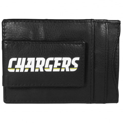Los Angeles Chargers Logo Leather Cash and Cardholder
