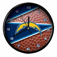 Los Angeles Chargers Football Clock