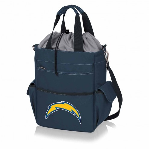 Los Angeles Chargers Navy Activo Cooler Tote