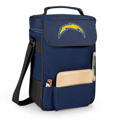 Los Angeles Chargers Navy Duet Insulated Wine Bag