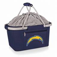 Los Angeles Chargers Navy Metro Picnic Basket