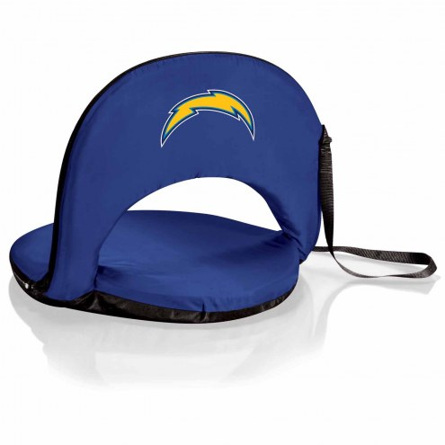 Los Angeles Chargers Navy Oniva Beach Chair