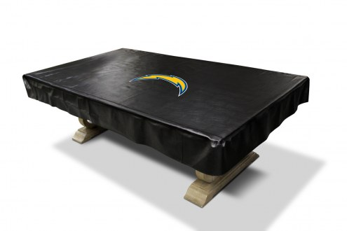 Los Angeles Chargers NFL Pool Table Cover