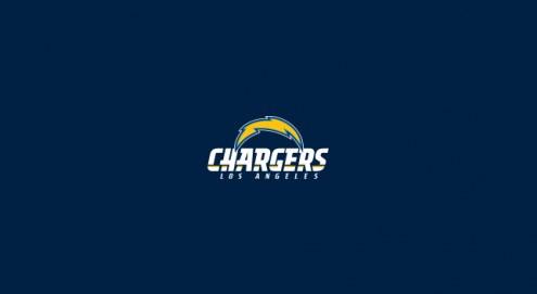 Los Angeles Chargers NFL Team Logo Billiard Cloth