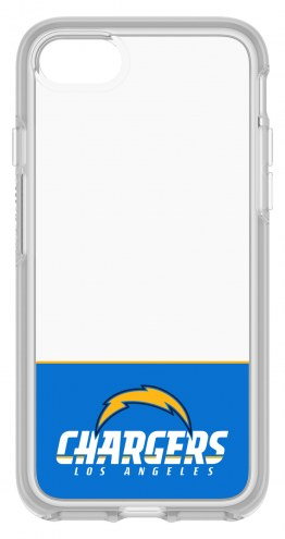 Los Angeles Chargers OtterBox iPhone 8/7 Symmetry Clear Case