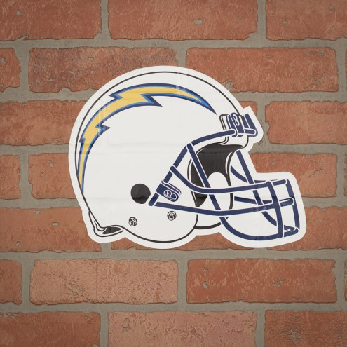 Los Angeles Chargers Outdoor Helmet Graphic