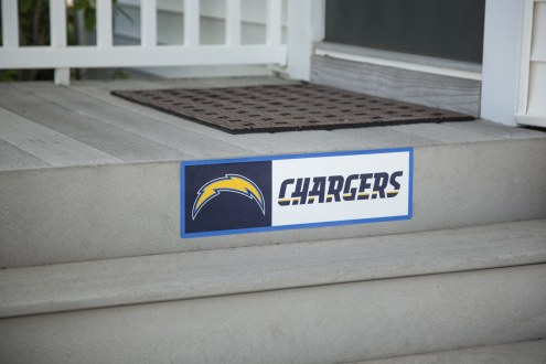 Los Angeles Chargers Outdoor Step Graphic